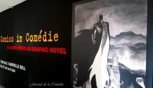 Exposition Comics in Comédie