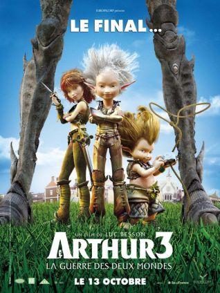 Arthur 3, La Guerre des Deux Mondes.