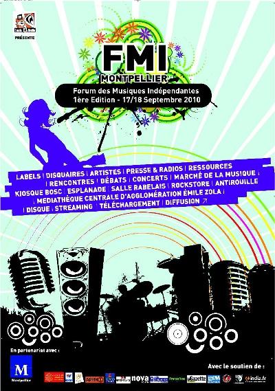Forum des Musiques Indépendantes 17/18 Septembre 2010