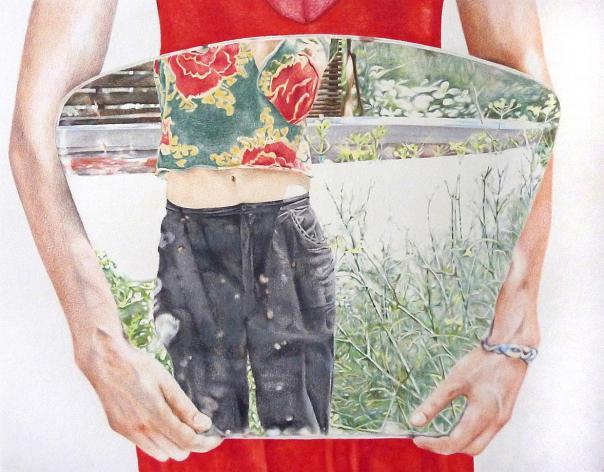 Clara Fanise Miroirpanacee, 2009,65 x 50 cm Iconoscope